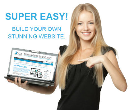 build your own website easy... website builder